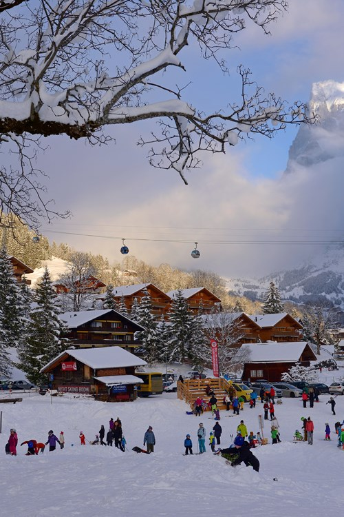 Grindelwald-Switzerland-skiing in town.jpg