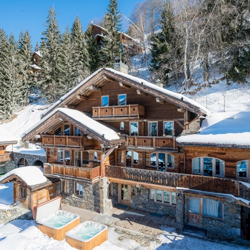 Chalet Ophelia, New Year ski break in Meribel