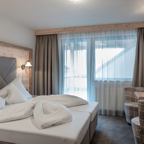 Burghotel Alpenguhn-Ski Accommodation in Obergurgl-Austria-standard room