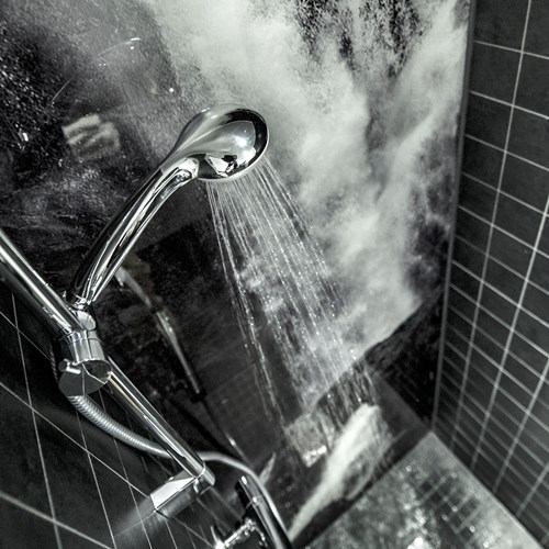 Myrkdalen Hotel, Ski in Norway, shower