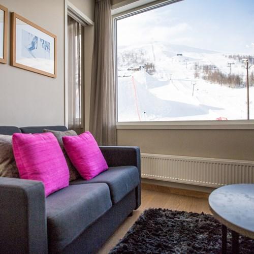 Myrkdalen Hotel, Ski in Norway, junior suite sofa bed