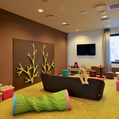 Myrkdalen Hotel, Ski in Norway, playroom for young kids