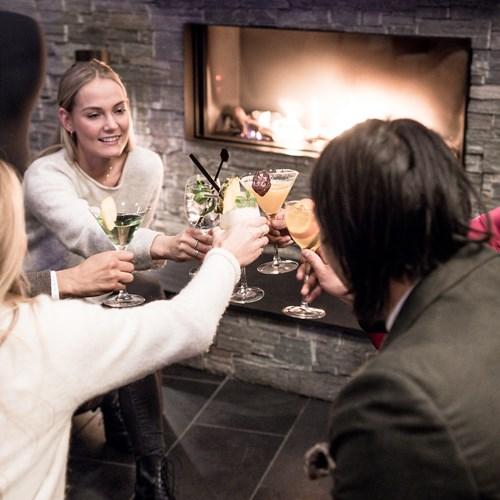 Myrkdalen Hotel, Ski in Norway, drinks by the roaring fire