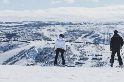 skiing in Geilo from Edinburgh