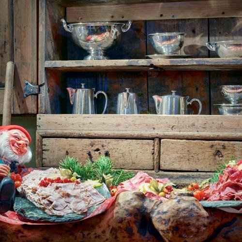 Hotel Bardola, Geilo ski resort, Norway-cold meat gnome