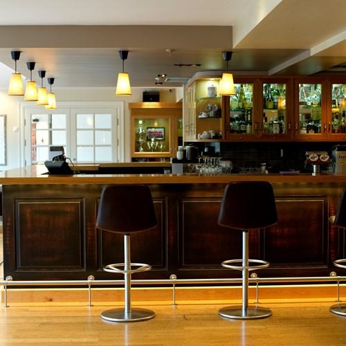 bar detail at Hotel Bardola, Geilo ski resort, Norway