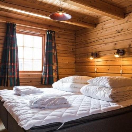 Bardola log cabins-Geilo-Norway-bedroom