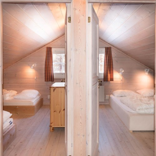 Two rooms in the eaves Geilolia cabins-Geilo ski resort, Norway