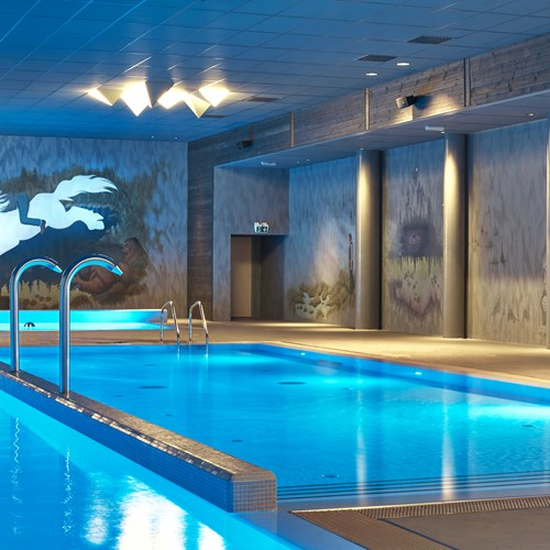 indoor pool at Vestlia resort ski hotel, Geilo, Ski Norway