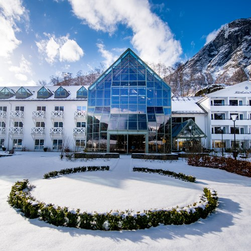 Fretheim Hotel Exterior-Flam-Norway