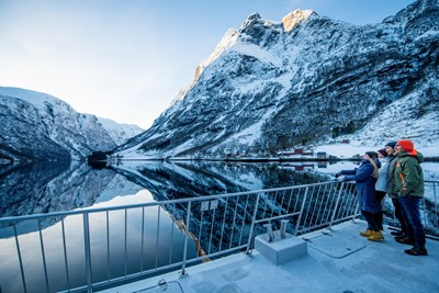 Flåm - fjord and rail experience