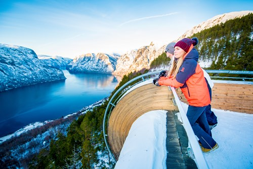 Stegastein Viewpoint-Ski and fjord experience-Flam-Norway