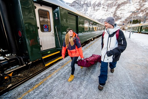 Flam railway-ski and fjord experience