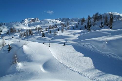 Madonna di Campiglio ski resort-Italy-mellow piste