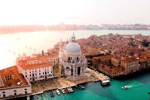 Venice-Italy-multicentre-aerial view of venice