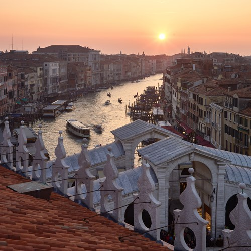 Venice-Italy-multicentre-rooftop sunset