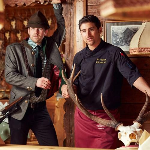 Hotel-Neue-Post-Mayrhofen-staff-in-traditional-dress