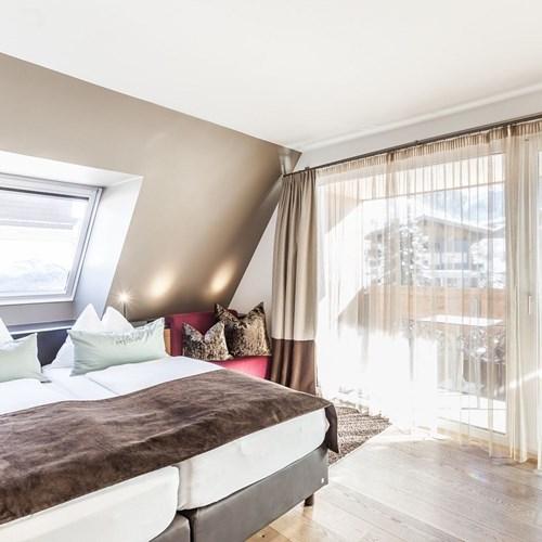 Hotel-Lederer's-Living-Kaprun-design-Hotel-double-loft-room