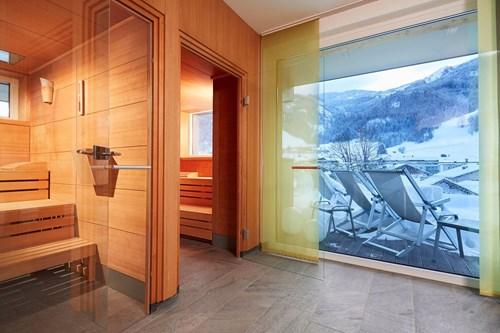 lederers living kaprun austria sauna view