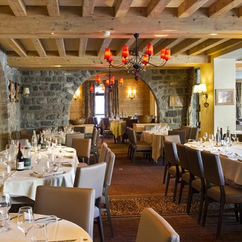 Hotel Beauregard-La Clusaz-restaurant