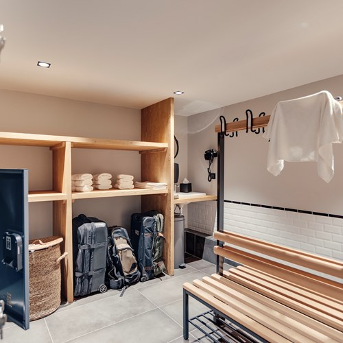 Hotel Avancher Val d'Isere luggage room