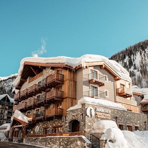 Hotel Avancher Val d'Isere hotel exterior