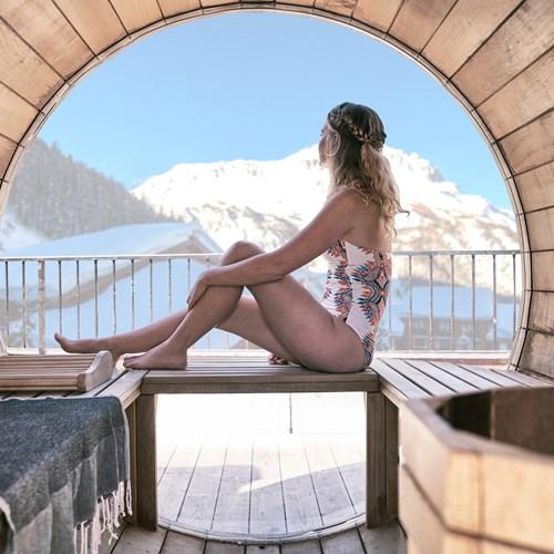 Hotel Avancher Val d'Isere sauna
