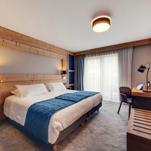 Hotel Avancher in Val dIsere ski resort comfort room