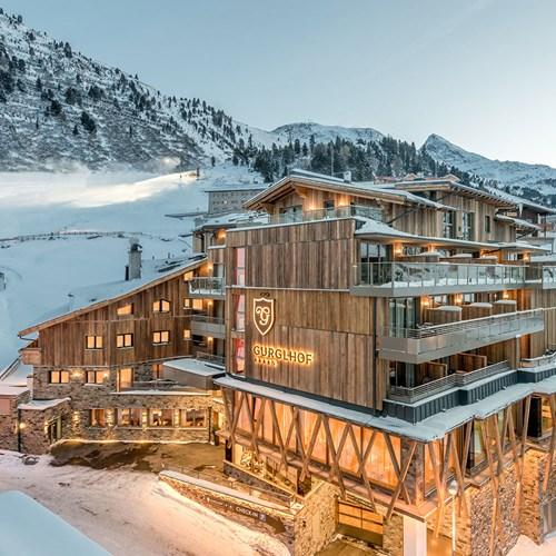 Ski Hotel Gurglhof in Obergurgl, hotel exterior