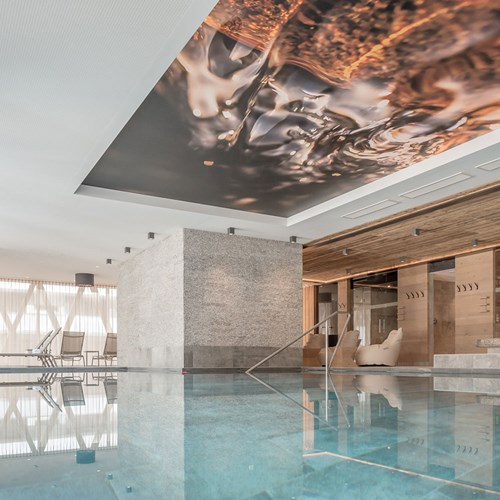 Ski Hotel Gurglhof in Obergurgl, indoor swimming pool