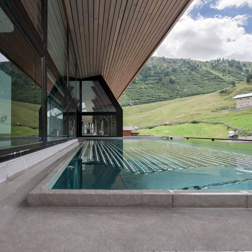 Hotel Josl Obergurgl Austria outdoor swimming pool