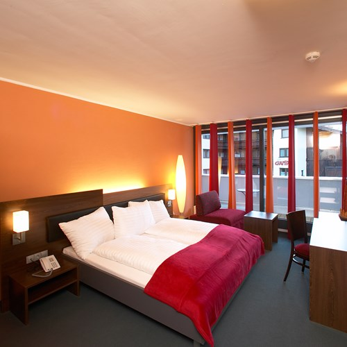double standard room at the Hotel Josl in Obergurgl
