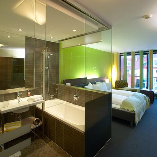 double superior room at the Hotel Josl in Obergurgl, Austria