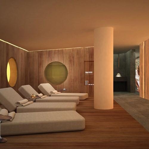 Faloria Mountain Spa Resort, Cortina ski hotel, spa area