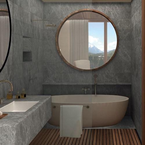 Faloria Mountain Spa Resort, Cortina ski hotel, bathroom