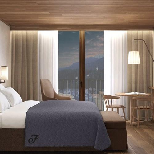 Faloria Mountain Spa Resort, Cortina ski hotel, guestroom