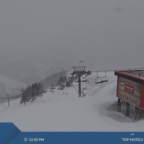 snow conditions in Kitzbuhel