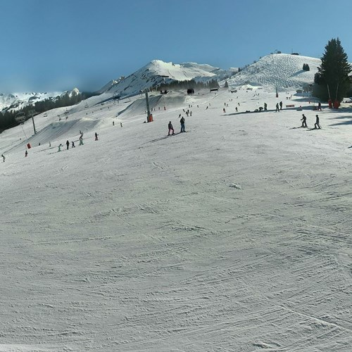 La Clusaz - webcam this morning