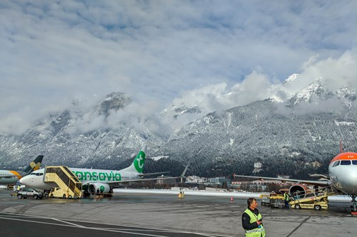 Innsbruck-airport-in-the-mountains short transfers