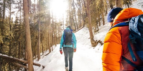 Winter Walking In Banff And Lake Louise