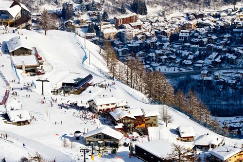 Courmayeur, ski resorts near Geneva