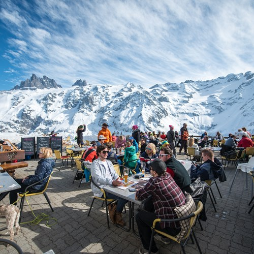 mountain lunches on engelberg ski weekend
