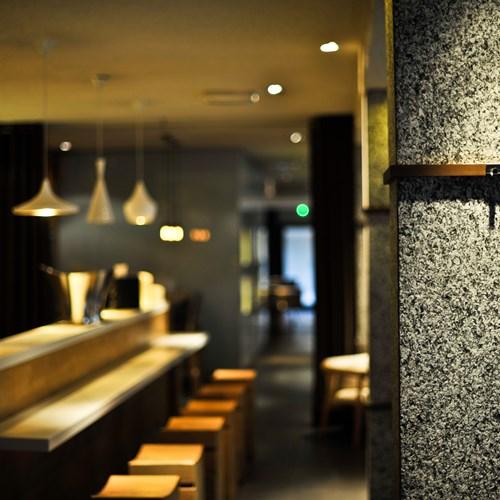 Hotel Le Morgane bar stool area
