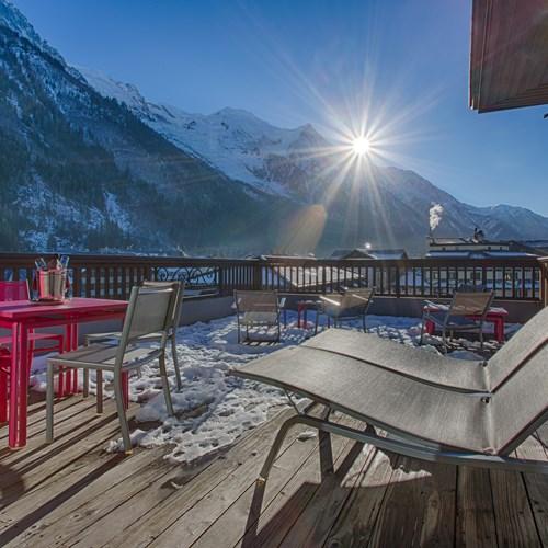 Hotel Le Morgane sun terrace