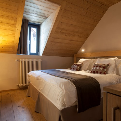 Standard room at Hotel National in Champery