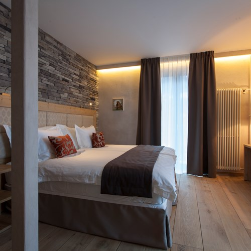 deluxe room at Hotel National in Champery