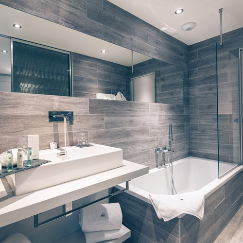 Bathroom at Hotel Le White Champery
