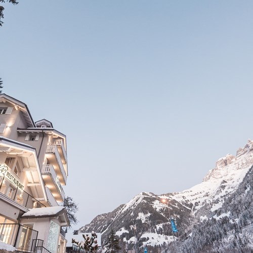 mountain views from Hotel Le White Champery