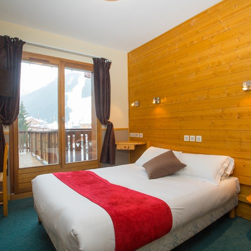 double room at Chalet Hotel Les Grangettes