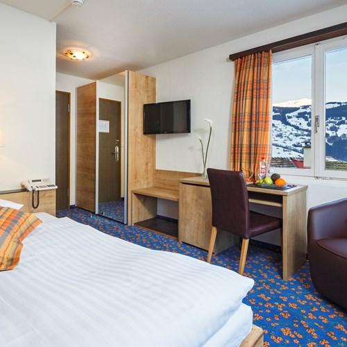 single room at Hotel Derby Grindelwald